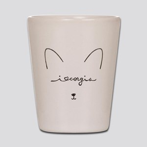 I Love Corgis - Shot Glass